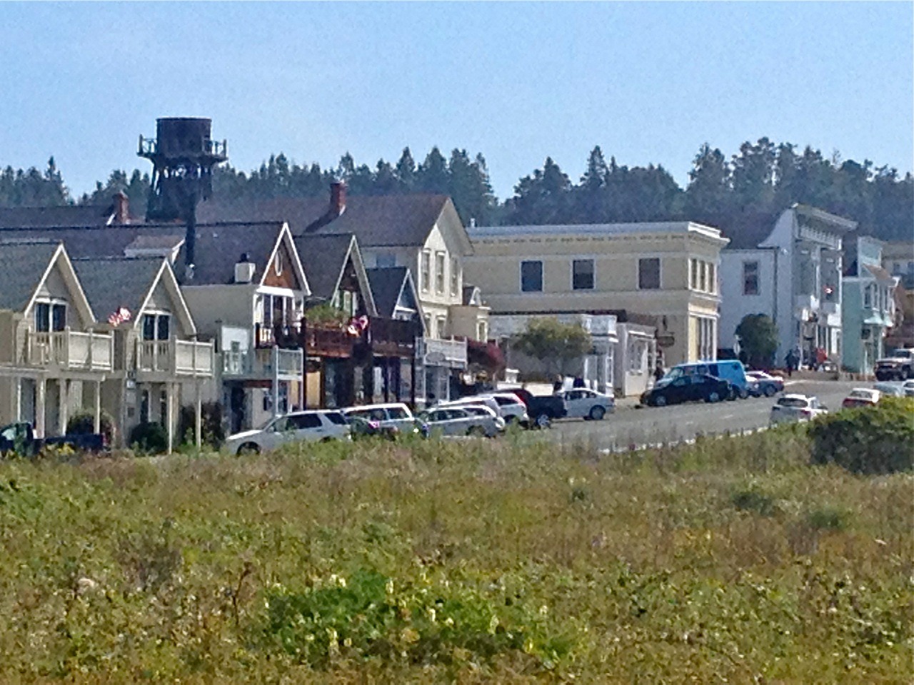 buildings on main st mendo