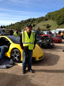 John on location - Need For Speed